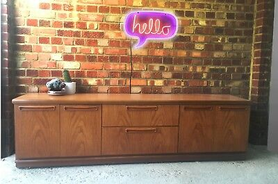 Vintage Retro Mid Century Sideboard Cabinet Scandi/ G plan style 60s 70s