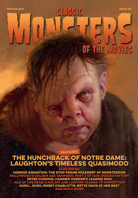 Classic Monsters Magazine Issue 9: Horror Film and Horror Movie Magazine