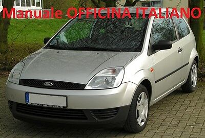 FORD FIESTA Quinta Serie e Restyling (2002/2008) Manuale Officina ITALIANO SU CD
