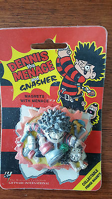Dennis the Menace and Gnasher 1996 Collectable Fridge Magnet