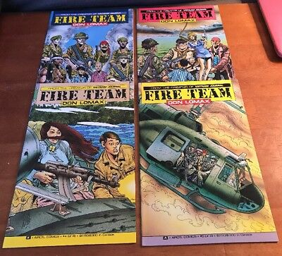 Fire Team Don Lomax Issues 1, 3, 4 and 5 (of 6)