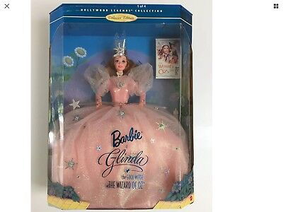 Barbie as Glinda the Good Witch in the Wizard of Oz 1st Edition 1996 NRFB