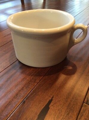 Vintage Chamber Pot Ironstone China One Handle