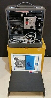 Kodak Instamatic M55-L M55L Vintage 8mm Cine Film Projector 1960s & Box etc
