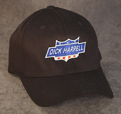 Dick Harrell FLEXFIT Size S/M or L/XL Hat - OFFICIALLY LICENSED & APPROVED