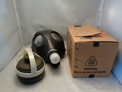 Israeli Civilian Gas Mask With Filter New