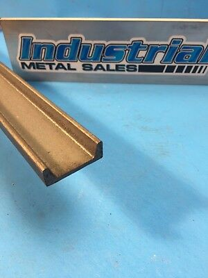 """A-36 Hot Rolled Steel Channel 1-1/2"""" x 1/2"""" x 12"""" x 1/8"""" Thick-- FREE SHIPPING"""