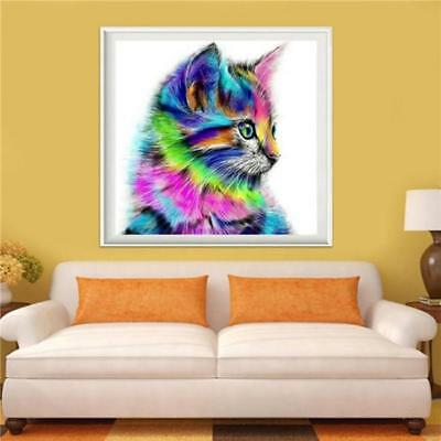 5D Diamond Painting Embroidery Cross Craft Stitch Home Decor Colorful Animal LD