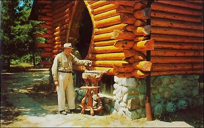 Roadside Attraction: Artist Raymond Overholser, Shrine of the Pines, Baldwin, MI