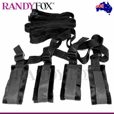 NEW Sex and Mischief SM Bed Bondage Rope Restraint Kit