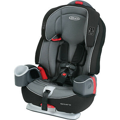 Nautilus 65 3-in-1 Multi-Use Harness Booster Car Seat Steel-reinforced Frame New