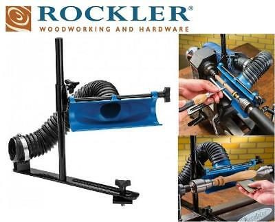 Rockler Lathe Dust Collection System Workshop Extraction Carpentry Woodworking