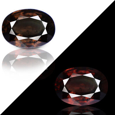 10.40ct 100% Natural earth mined extremely rare huge fierce color change garnet