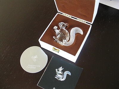 Swarovski Crystal- 10th Anniversary Edition--The Squirrel with Case
