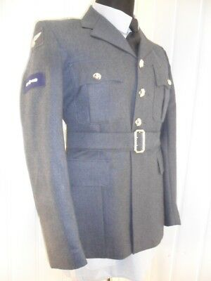 MOD SURPLUS Royal Air Force NO1 Dress SD Uniform parade LAC RAF Jacket tunic 38""
