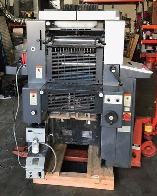 Heidelberg Qm46 2 Colors Working Condition