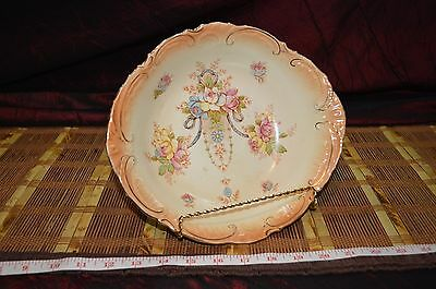 "S Fielding & Co Stoke On Trent Crown Devon Serving Bowl 9 7/8""x2 5/8"""