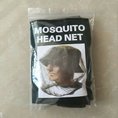 Camping Fishing Mosquito Bee Mesh Head Net Protect Hat Hunting Insect Breathable