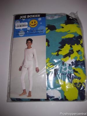 NEW Joe Boxer Thermal Underwear Set-Multi-Color Skull Print-Choose Your Size