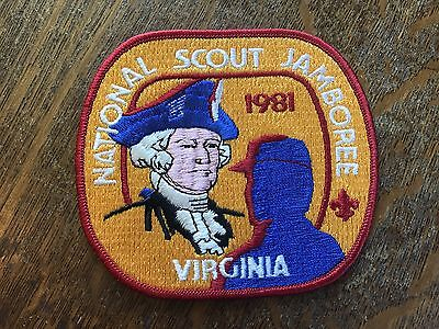 Vintage 1981 Boy Scouts of America National Jamboree Patch Large