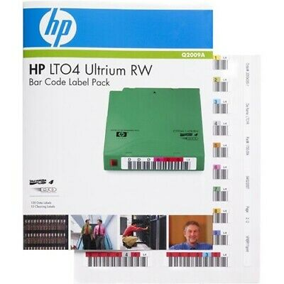 HP RW Bar Code Label - 1 Pack