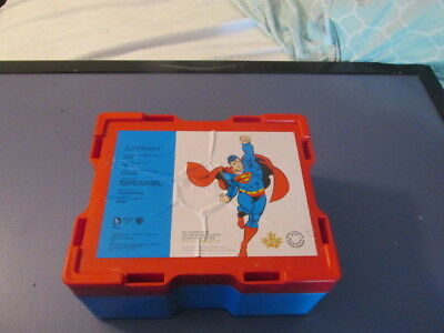 Superman monster box with 14 Tubes   No Coins