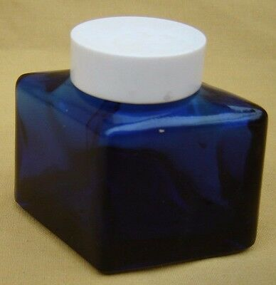 Vintage Parker Super Quink Royal Blue Ink Empty Bottle 2oz. USA