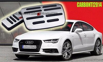 Stainless Steel Brake Gas Automatic Transmission AT Pedal for AUDI A1/4/5/6/7/8
