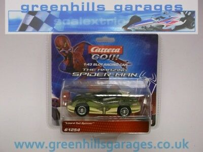 Greenhills Carrera Go!!! Spider Man Lizard Tail Spinner 61254 BNIB 14757