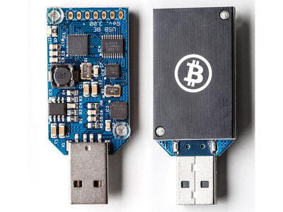 Bitcoin Miner ASIC USB Block Erupter SHA-256 333 MH/s - With Support!