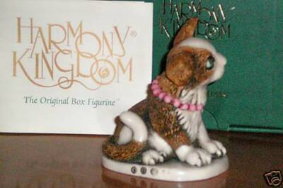 Harmony Kingdom Pearl Event Cat Wisconsin Convention UK Made Box Figurine SGN