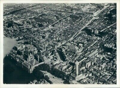 1939 Press Photo Aerial The Hague 1930s Netherlands