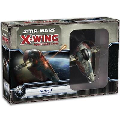Star Wars X-Wing Miniatures Game Slave I Expansion Pack Board Game