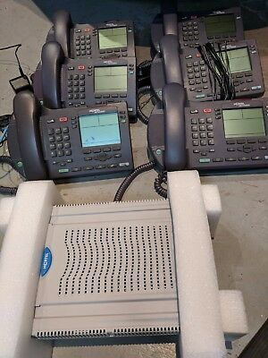 Nortel BCM50be VoIP Phone System Release 2 (with router) incl 6 VoIP handsets