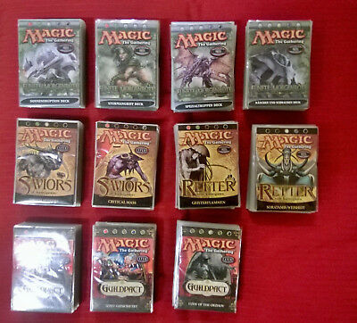 magic the gathering Deck Konvolut 5. Morgenröte Retter Saviors Guildpact