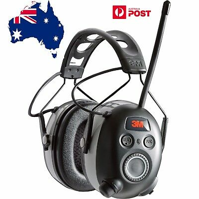 3M WorkTunes Wireless Hearing Protector with Bluetooth & AM/FM Radio - NEW MODEL