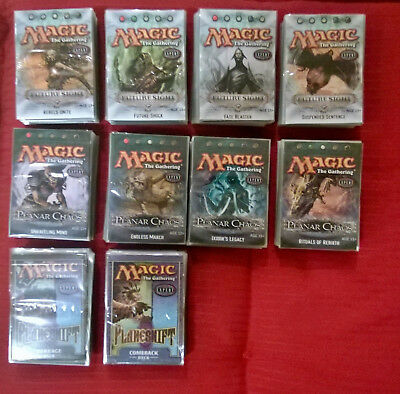 magic the gathering Deck Konvolut Planeshift Planar Chaos Future Sight