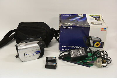 Sony DCR-DVD106E Handycam DVD Camcorder - With Sony Camera Bag & Accessories