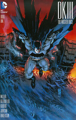 DARK KNIGHT 3 The Master Race #1 BATMAN DK III Marc Silvestri  VARIANT Cover