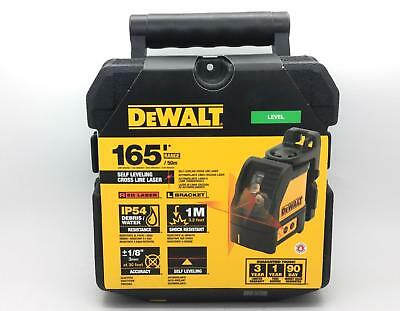 DEWALT Self-Leveling Cross Line Laser Level - DW088K - NEW IN BOX