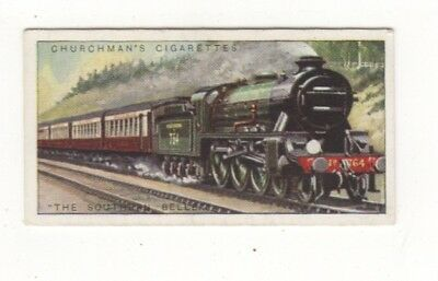 Train Card. The Southern Belle Pullman.