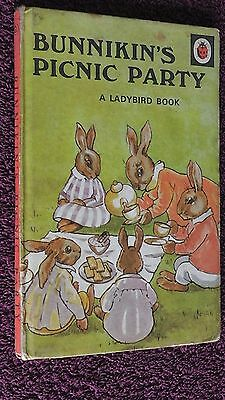 ladybird book, Crisp Pages, Bunnikin's Picnic Party, Series 401