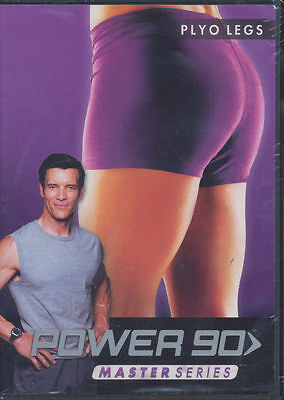 POWER 90 ~ MASTER SERIES ~ PLYO LEGS ~ DVD new