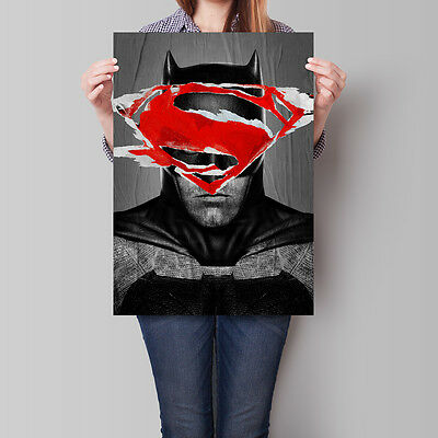 Batman v Superman Dawn of Justice Poster 2016 Movie 16.6 x 23.4 in (A2)