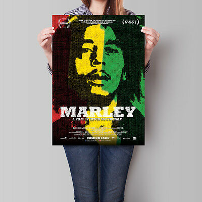 Marley Movie Poster 2012 Bob Marley 16.6 x 23.4 in (A2)