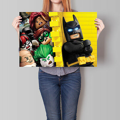 The Lego Batman Movie Poster Wall Deco 16.6 x 23.4 in (A2)