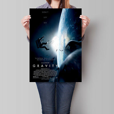 Gravity Poster 2013 Movie Sandra Bullock 16.6 x 23.4 in (A2)