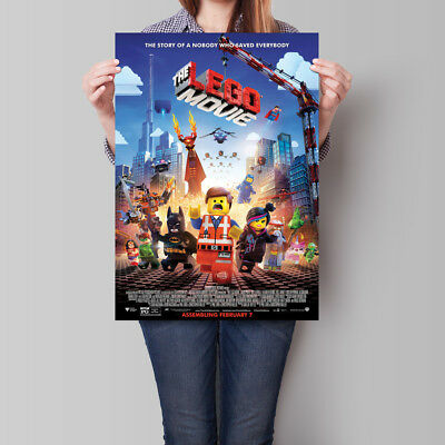 The Lego Movie Poster 2014 Emmet Wyldstyle Batman 16.6 x 23.4 in (A2)