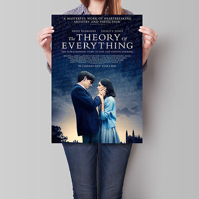 The Theory of Everything Movie Poster 2014 Eddie Redmayne 16.6 x 23.4 in (A2)