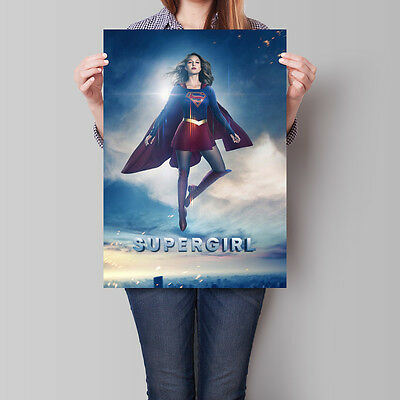 Supergirl Poster TV Series Melissa Benoist Season 2 Promo 16.6 x 23.4 in (A2)